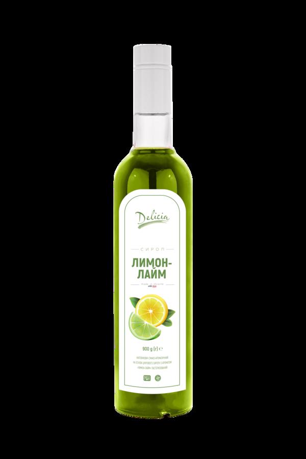 Сироп Лимон-лайм Delicia 900 г