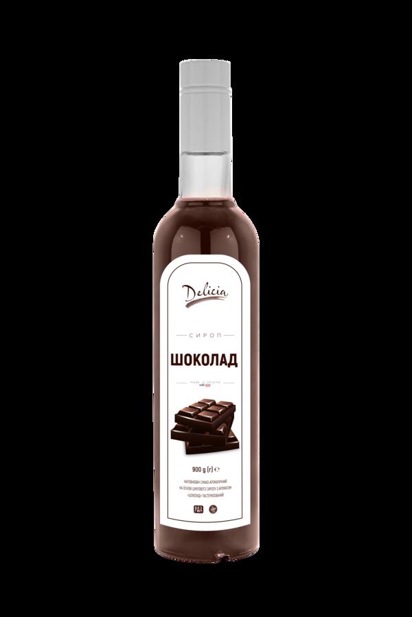 Сироп Шоколадная Вишня Delicia 900 г
