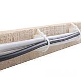 ElectroHouse Майданчик для стягування (хомутів) самоклеючий 20х20 мм білий нейлон, фото 3