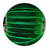 Оксамитова стрічка (велюр) зелена 1см