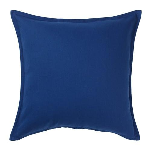 ИКЕА (IKEA) ГУРЛИ, 004.262.01, Чехол на подушку, темно-синий, 50x50 см - ТОП ПРОДАЖ