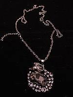 Подвеска в серебре овен с камнями Сваровски