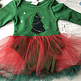 Новогодний костюм на девочку 44. Размер  68 см, фото 4