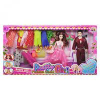 Набір лялька+ плаття в розовом sv-76, (Оригинал)