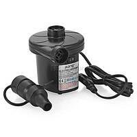 Электрический насос 220В, компрессор для надувных матрасов, бассейнов, лодок, кроватей, Акция f