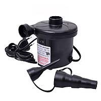 Электрический насос 220В, компрессор для надувных матрасов, бассейнов, лодок, кроватей h