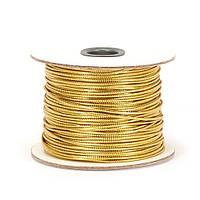 Шнур декоративний золото 1 мм
