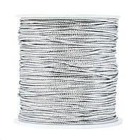 Шнур декоративний срібло 1 мм