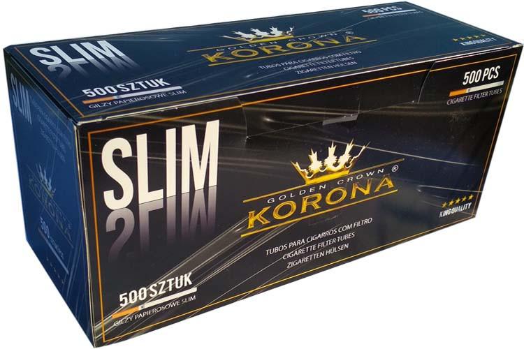 Гильзы для сигарет korona slim купить где можно купить сигареты в центре
