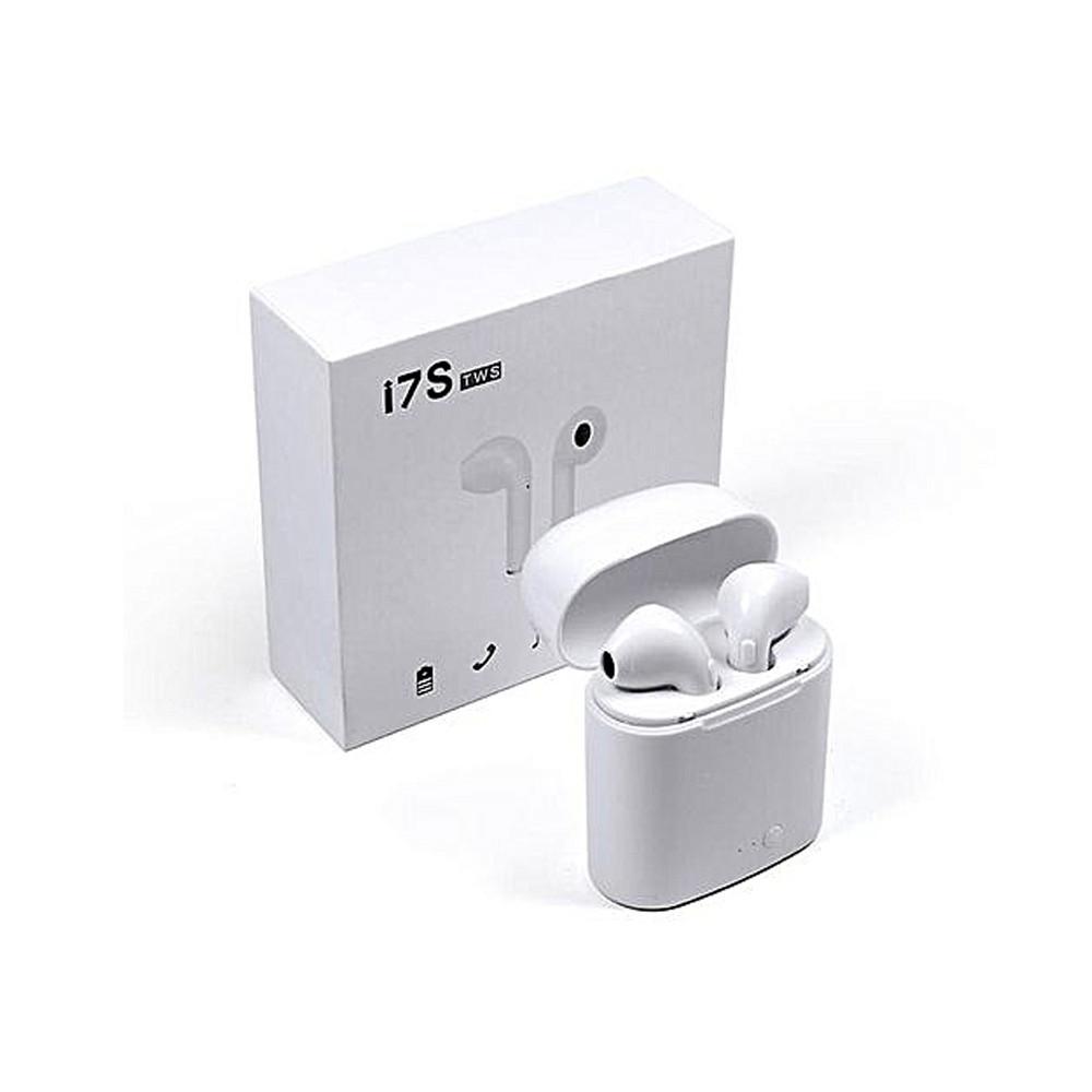 Бездротові навушники Bluetooth i7 TWS White (GFBVV478FJHGBNB)