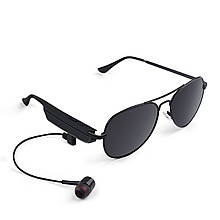 Bluetooth гарнитура-очки Gelete A8 Black (3193-8988)