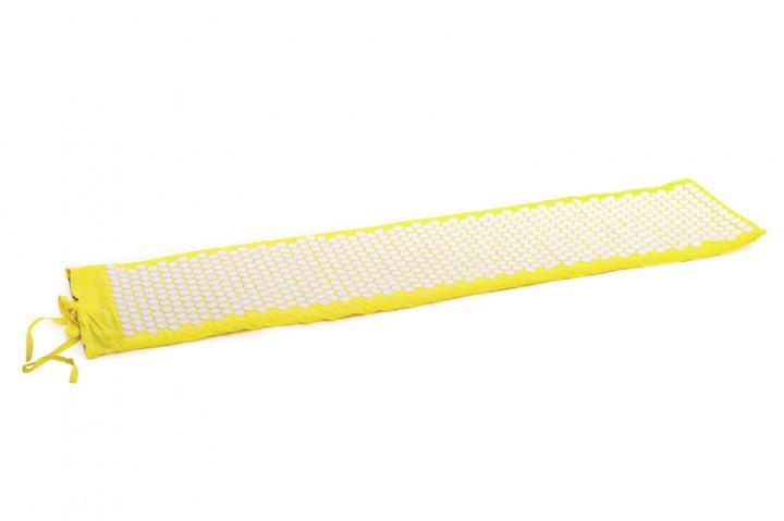 """Килимок масажно-акупунктурний """"Релакс"""" великий 165*40 см (Жовтий) MS-1273-4"""