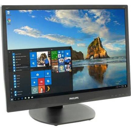 """Монитор 22""""  Philips 220S4LCB/00 1680x1050 TN + film- (царапины и полоса на экран) -УЦЕНКА- Б/У, фото 2"""