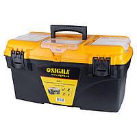 Ящик для инструмента со съёмными органайзерами 510×291×280мм Sigma (7403951)