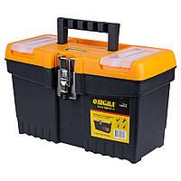 Ящик для инструмента (металлические замки) 320×155×187мм Sigma (7403531)