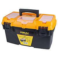 Ящик для инструмента с органайзером 432×250×238мм Sigma (7403801)