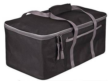 Сумка в багажник плащевка  480х300х200мм BK/GY  Штурмовик АС-1538