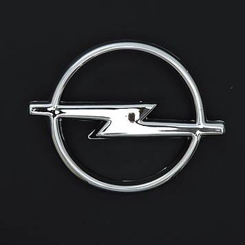 "Эмблема  ""Opel"" 114х93мм\пластик\хром\1 пукля (Astra,Vectra перед 91-95)"
