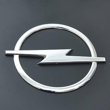"Эмблема  ""Opel"" 126х152мм\пластик\хром\Скотч (Omega B)"