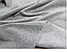 Утепленные светло-серые женские спортивные с печатью-накаткой штанишки трехнитка с начесом, фото 4