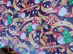 Папір пакувальна новорічні подаруночки