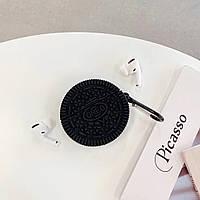 Чехол для наушников Apple AirPods Pro Alitek Печенье Oreo + карабин
