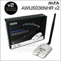 Wi-Fi адаптер Alfa Awus036NHR V2 + АП-15М, фото 2