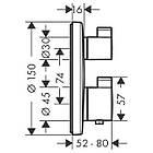 ECOSTAT S термостат с запорным/переключающим вентилем, фото 2