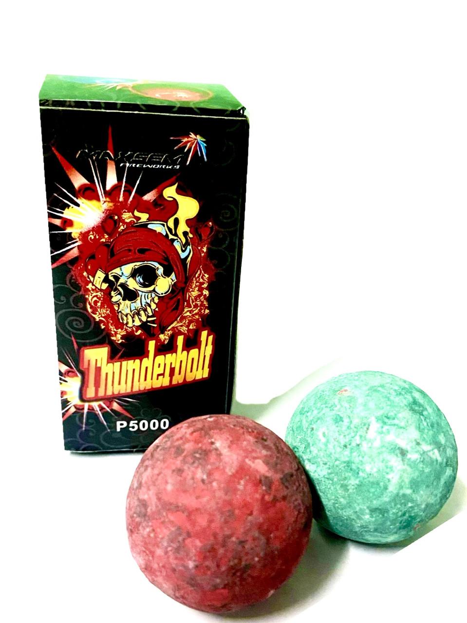 Огненные шары P5000 Thundrebolt 2шт/уп