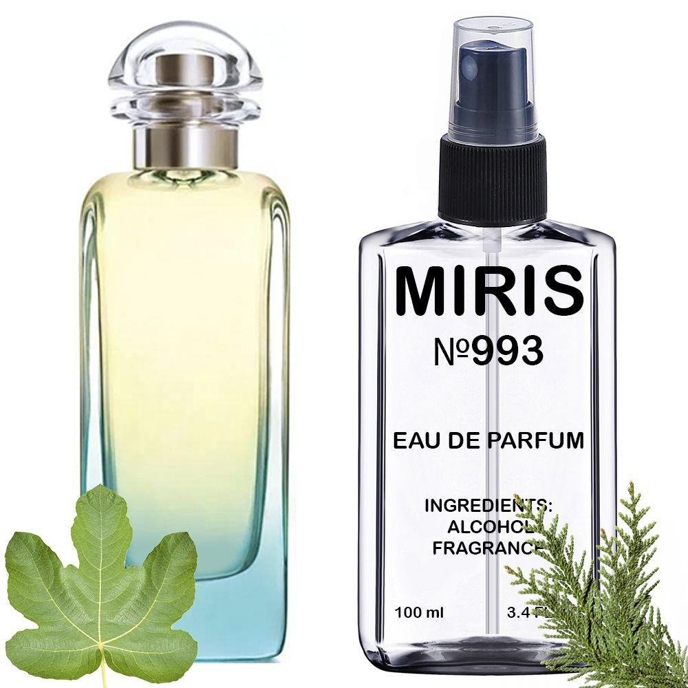 Духи MIRIS №993 (аромат похож на Hermes Un Jardin En Mediterranee) Унисекс 100 ml