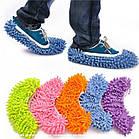 Чохли бахіли тапочки для прибирання фіолетові, фото 3