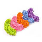 Чохли бахіли тапочки для прибирання фіолетові, фото 7