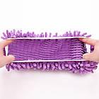 Чохли бахіли тапочки для прибирання фіолетові, фото 8