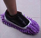 Чохли бахіли тапочки для прибирання фіолетові, фото 9