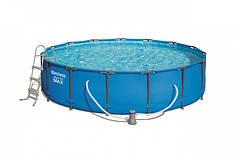 Бассейн каркасный круглый Bestway 56488 457х107 см Blue