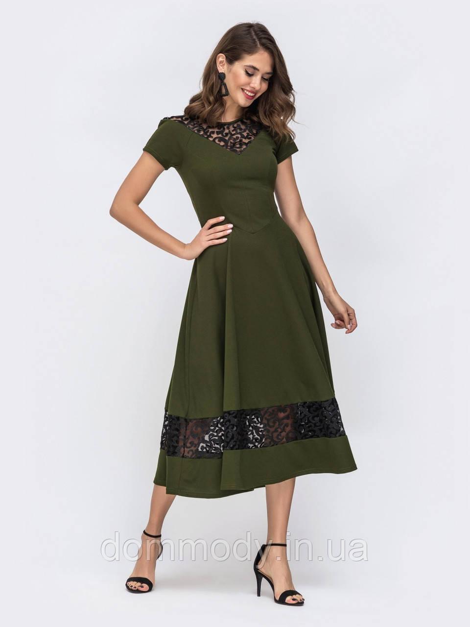 Платье женское Outfit green