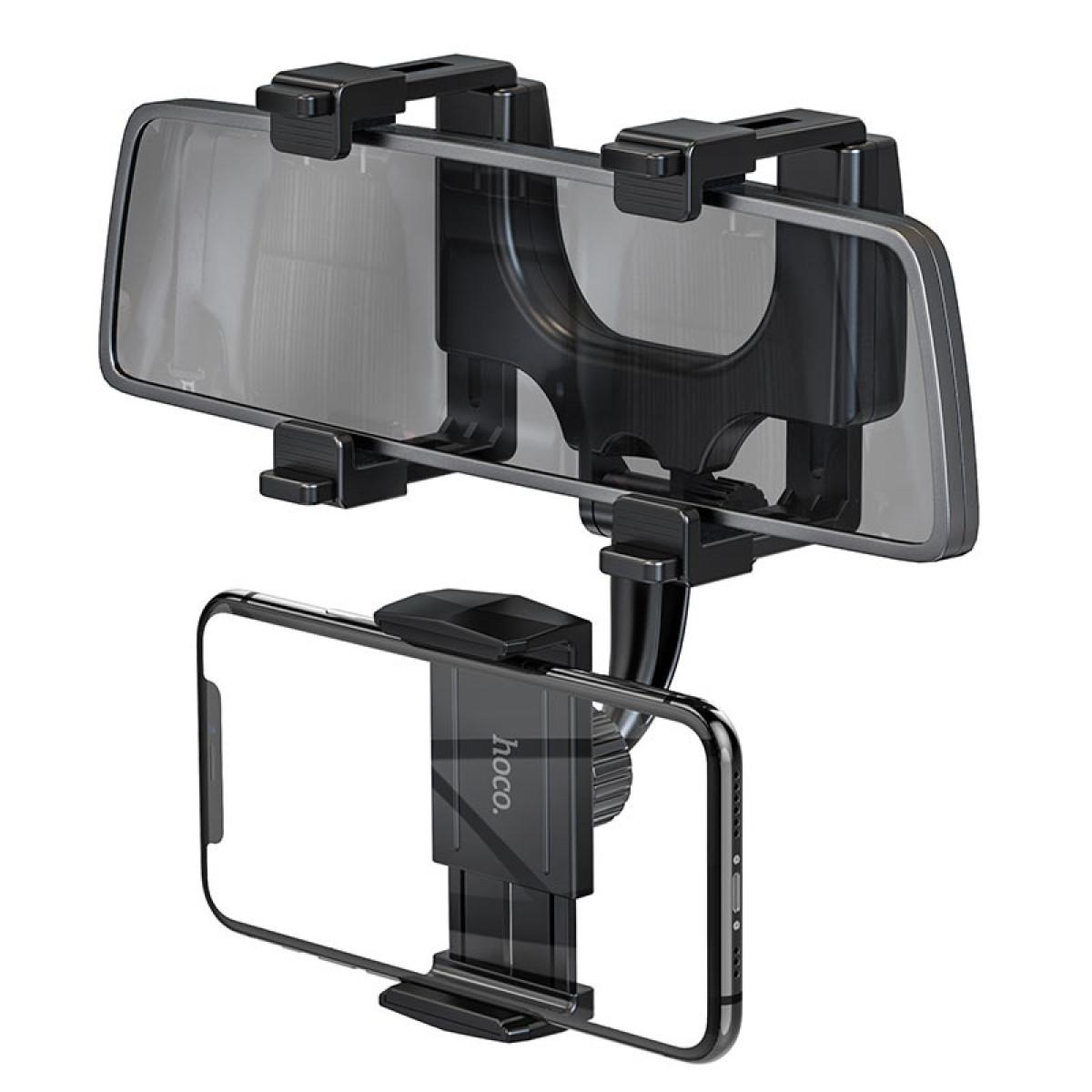 Автомобильный держатель для телефона на зеркало Hoco CA70 Pilot