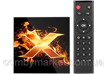 Смарт ТВ приставка VONTAR X1 4/64Gb