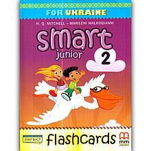 Картки Англійська мова 2 клас Smart Junior Flashcards Авт: Mitchell H. Вид: MM Publications