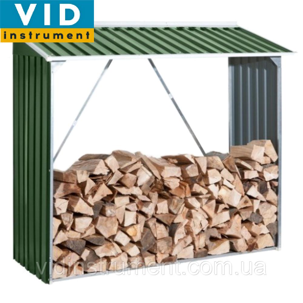 Накрытие для дров металлическое