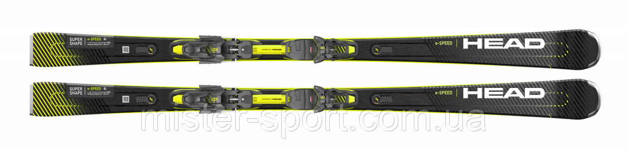 Лыжи HEAD Supershape e-Speed + крепления PRD 12 GW 2021