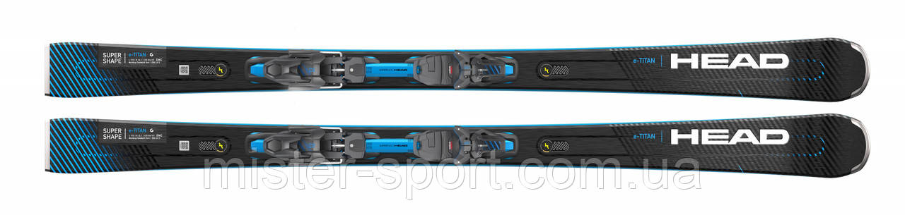 Лыжи HEAD Supershape e-Titan + крепления PRD 12 GW 2021