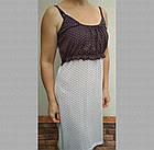 """Комплект женский трикотажный для кормящих """"Мама"""" р104, халат и ночная сорочка на бретельках 20037055, фото 2"""
