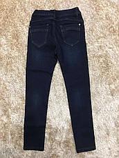 Джинсові штани утеплені для дівчаток, F&D, в наявності 4 рр., фото 3