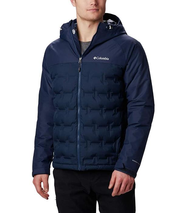 Чоловіча пухова куртка Columbia GRAND TREK. Розмір 2X -58-60