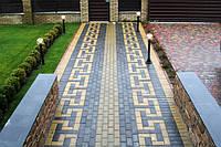 Тротуарная плитка ФЭМ Кирпичик, тротуарная плитка ФЭМ купить, фото 1