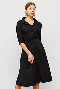 Вишукане класичне плаття Delisa, чорний