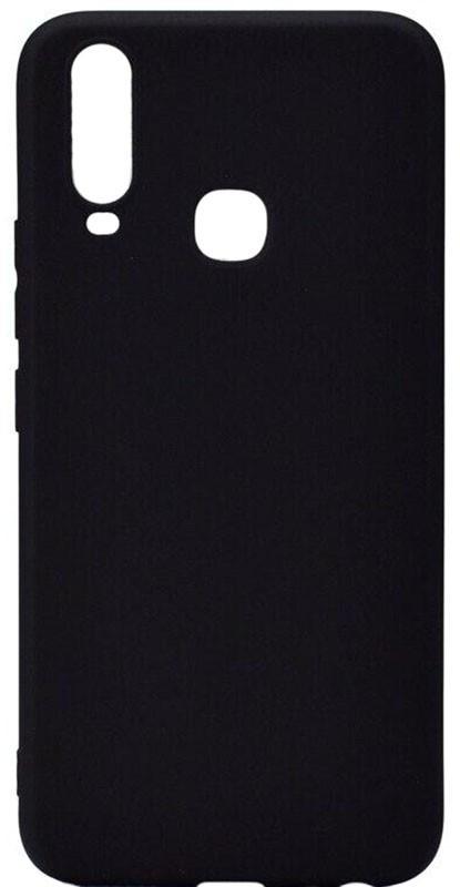 Чохол-накладка TOTO 1mm Matt TPU Case Vivo Y15 Black #I/S