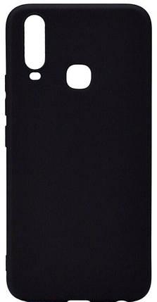 Чохол-накладка TOTO 1mm Matt TPU Case Vivo Y15 Black #I/S, фото 2