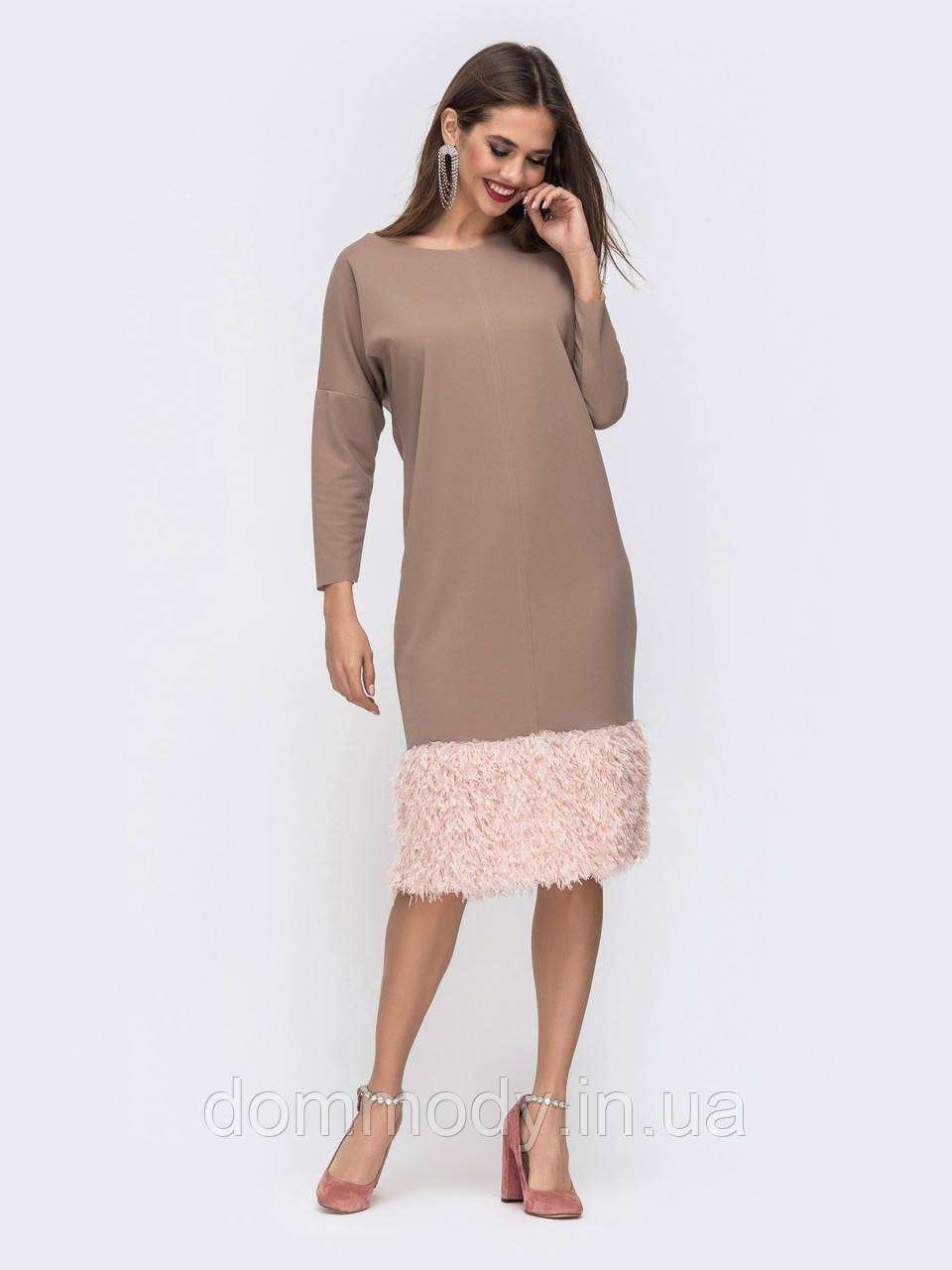 Платье женское Vivan beige